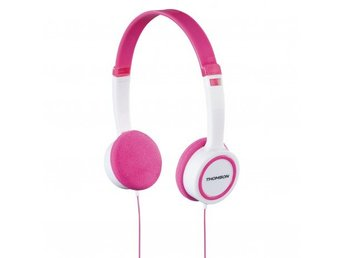THOMSON Hörlur HED1105 On-ear, Rosa, För Barn, 85dB