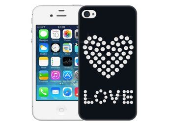 iPhone 4/4s Skal Shiny Love