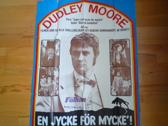 Film Affisch Duddley Moore Stor Original