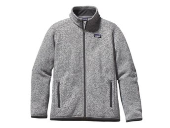 patagonia better sweater fleece grå storlek S