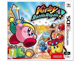 Kirby Battle Royale 3DS Nytt