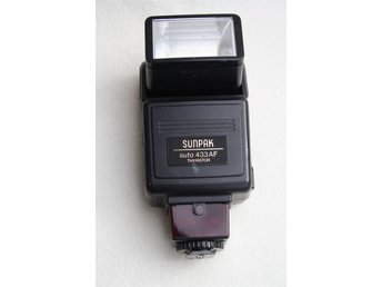 BLIXT SUNPAK AUTO  433AF THYRISTOR FOR MINOLTA AUTO FOCUS