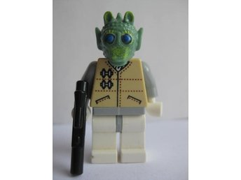 Lego Figurer Figur - Disney Star Wars Greedo Hoth  -  LF7-2