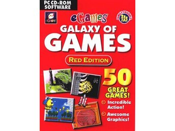 E Games - Galaxy Of Games - Red Edition - PC Spel