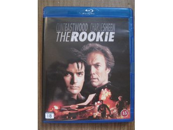 The Rookie (Blu ray, action, Clint Eastwood, Charlie Sheen)