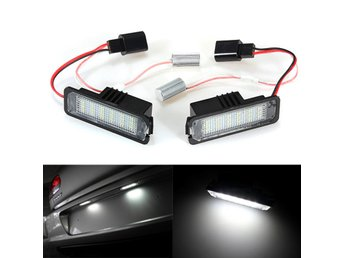 18 SMD LED License Number Plate Light for VW Golf Mk4 MK5...