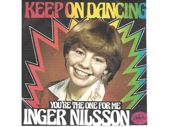 "Inger ""Pippi"" Nilsson - Keep on dancing / You´re the one for me  1998"