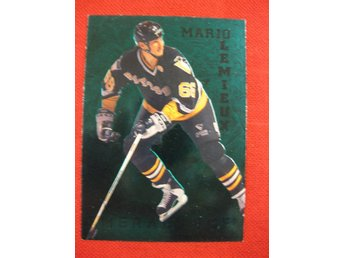 MARIO LEMIEUX - PARKHURST 1995-96 EMERALD ICE - PITTSBURGH PENGUINS
