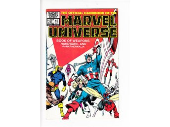 The Official Handbook of the Marvel Universe nr 15 (1984) / VF/NM / toppskick - Vallentuna - The Official Handbook of the Marvel Universe nr 15 (1984) / VF/NM / toppskick - Vallentuna