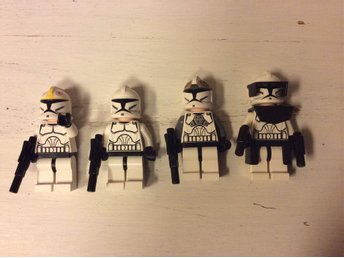 LEGO Star Wars Minifigurer, Clone Troopers
