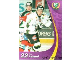 2006-2007 SHL #187, Per Åslund, Färjestads BK - Linköping - 2006-2007 SHL #187, Per Åslund, Färjestads BK - Linköping