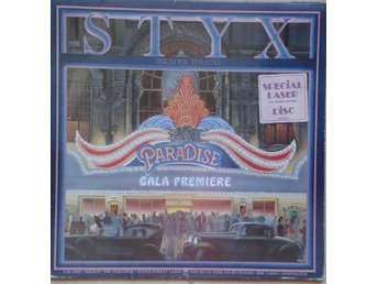 Styx  titel*  Paradise Theatre* Pop,Rock EU LP, Gatefold, Etch