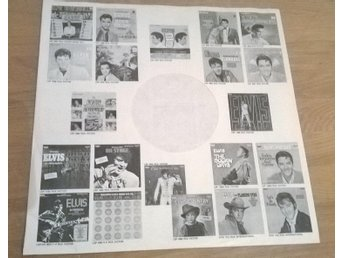 (Elvis Presley) Elvis`great lp catalogue inner sleeve Black & white sleeve
