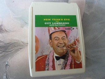 GUY LOMBARDO, NEW YEAR'S EVE,  KASSETTBAND, 8-TRACK