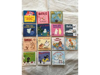 Pixi böcker bl.a. annat Snurran, Mumin, Ville & Vilda mfl - Torsby - Pixi böcker bl.a. annat Snurran, Mumin, Ville & Vilda mfl - Torsby