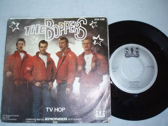 The Boppers ?– TV Hop / Do That Boppin' Jive, Made Sweden 1980