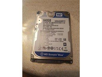 2.5 tum WD 640 gb hdd hårddisk S-ATA - Upplands Väsby - 2.5 tum WD 640 gb hdd hårddisk S-ATA - Upplands Väsby