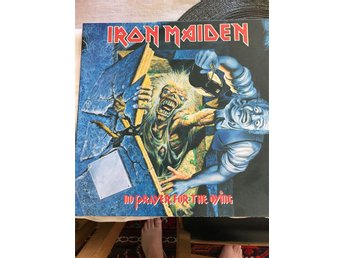 Iron Maiden. No prayer for The dying. lP.