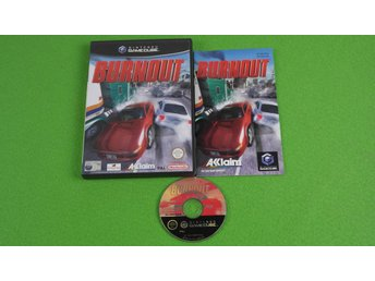 Burnout KOMPLETT Gamecube Nintendo Game Cube