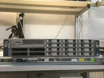 "Cisco UCS C210 M2 2x L5630 32GB 16x2,5"" 1xPSU"