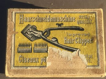 RETRO HAIR CLIPPER  HAARSCHNEIDEMASCHINE  HÅRKLIPPNINGSMASKIN