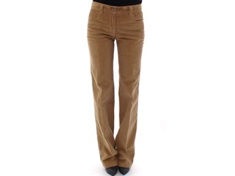 Dolce & Gabbana - Brown Cotton Corduroys Jeans Pants