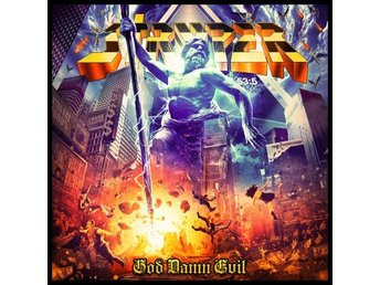 Stryper: God damn evil 2018 (CD)