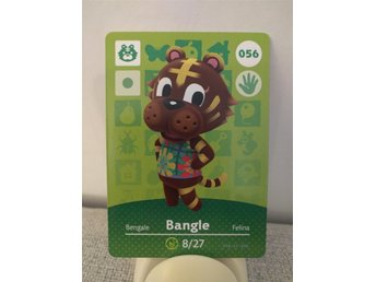 Animal Crossing Amiibo Welcome Amiibo card nr 056 Bangle
