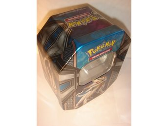 NY TOM POKEMON ORGINAL PLÅT BOX  SOLGALEO  GX   TIN