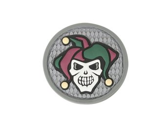 Maxpedition Patch - Jester Skul - Full color