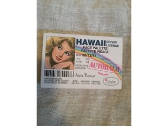 The Balm Autobalm Hawaii Eyeshadow Palette NY!