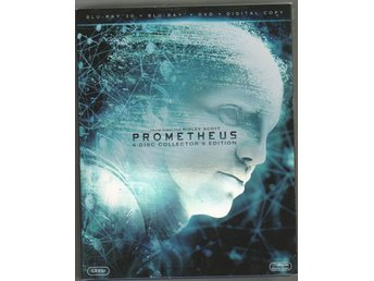 BLU - RAY - 3D - PROMETHEUS - 4-DISC COLLECTORS EDITION