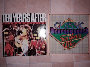 TEN YEARS AFTER -  2st LP HEAR ME CALLING + Classic Performances MINT, UK + SWE