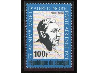Republique Du Senegal 1971 A.Nobel postfriskt
