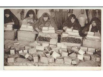 Vykort, Packing of dates, BUSRAH