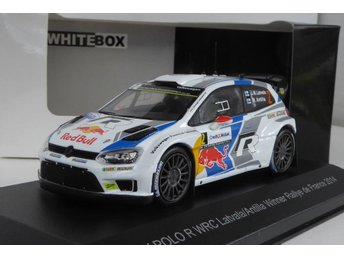 VW VOLKSWAGEN POLO WRC - IXO /WB - LATVALA - VINNARE RALLY FRANCE 2014 - 1:43