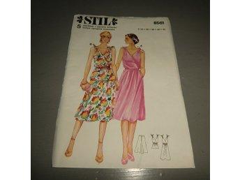 92e2839dc957 symönster stil 8561 klänning kjol och top st. 3.. (354044756) ᐈ Köp ...