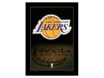 Los Angeles Lakers Inramad Bild Logo