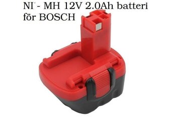 Bosch. NIMH 12V 2.0Ah batteri för BOSCH - London - Bosch. NIMH 12V 2.0Ah batteri för BOSCH - London