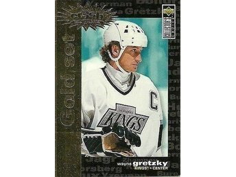 "1995-96 Wayne Gretzky Collectors choice ""Gold Set"" You Crash The Game - Tingsryd - 1995-96 Wayne Gretzky Collectors choice ""Gold Set"" You Crash The Game - Tingsryd"