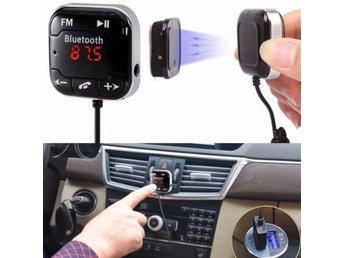 Car Kit Wireless Bluetooth MP3 Player FM Transmitter Handsfree USB LCD SD Remote - Govindapuram - Car Kit Wireless Bluetooth MP3 Player FM Transmitter Handsfree USB LCD SD Remote - Govindapuram