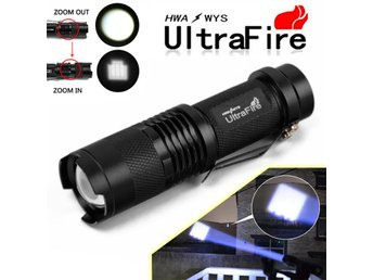 Ultrafire 5000Lumen CREE T6 LED Torch Super Bright Light Rechargeable Flashlight
