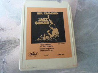 NEIL DIAMOND, THE JAZZ SINGER,  KASSETTBAND, 8-TRACK