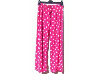 NYst38-40 LUXUÖS NEW LOVELY WARM PINK ROSA PYJAMAS BOTTOMS