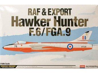 Academy 1/48 Hawker HunterF.6/FGA.9 RAF & Export - Skoghall - Academy 1/48 Hawker HunterF.6/FGA.9 RAF & Export - Skoghall