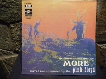 PINK FLOYD - Soundtrack from the film More - Columbia, 1969.