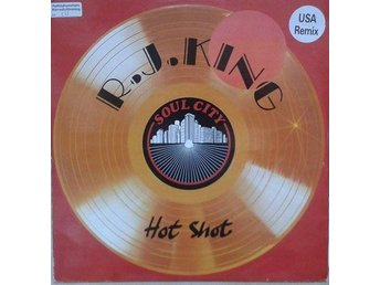 "R.J. King title*Hot Shot* Soul UK 12"" - Hägersten - R.J. King title*Hot Shot* Soul UK 12"" - Hägersten"