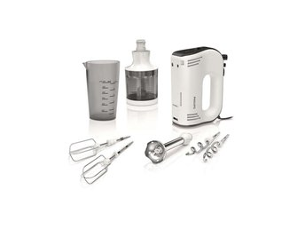 Philips Elvisp med mixertillägg Avance Collection 750 W vit HR1578/00