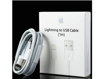 1m iPhone Laddara USB Kabel Kablar Cable 5/5c/5s/6/6s/6plus+/7/7plus - Skondal - 1m iPhone Laddara USB Kabel Kablar Cable 5/5c/5s/6/6s/6plus+/7/7plus - Skondal