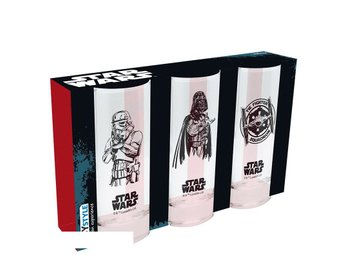 Glas (set med 3) - Star Wars - Galactic Empire